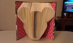Folded Book Art Mickey  Made to Order by MissArtsyCraftsy on Etsy, $15.00