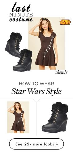 """chewie"" by buttons-and-pockets on Polyvore featuring Nanette Lepore and Disney"