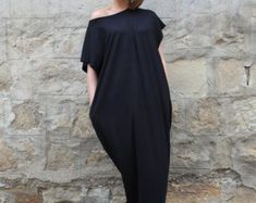 Items similar to White and Brown stripes Maxi oversized plus size elastic cotton caftan dress/ Cover up /Tunic dress /Sun dress/Casual dress/Everyday dress on Etsy Peach Maxi Dresses, Comfy Dresses, Plus Size Maxi Dresses, Plus Size Outfits, Mint Maxi, Dress Casual, Robes D'occasion, Maxi Robes, Caftan Dress