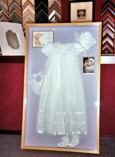 displaying heirloom frame | Unique custom frames, military shadow boxes, custom framed mirrors ...