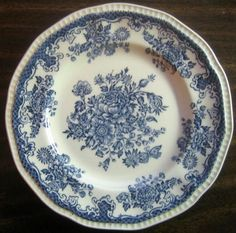 Decorative Dishes - Blue Toile Butterfly Mum Poppy Bird Vintage Plate S, $19.99 (http://www.decorativedishes.net/blue-toile-butterfly-mum-poppy-bird-vintage-plate-s/)