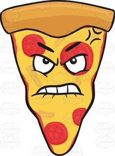 Slice Of Pepperoni Pizza Looking Bruised And Mad Emoji #aggravated #americanpizza #angered #angry #bruised #caricature #cartoon #cartoonface #cheese #cheesy #cheeza #chicagostyle #crust #emoji #emoticon #faceonfood #food #furious #injured #mad #maddened #meltedcheese #mozzarella #mozzarellacheese #outraged #pepperoni #pepperonichips #pepperonislices #pie #pizza #pizzapie #pizzaslice #provoked #raging #single #singleslice #slice #smiley #smilies #stormy #tempestuous #thickcrust #thincrust ...