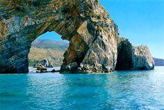arco naturale a Palinuro (Salerno) ITALY