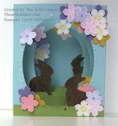 Panorama Easter card by theartfulinker.com