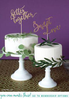 #DIYWedding cake! pa