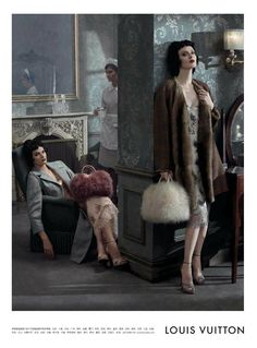 Louis Vuitton Fall Winter 2013 Ad Campaign | Art8amby's Blog