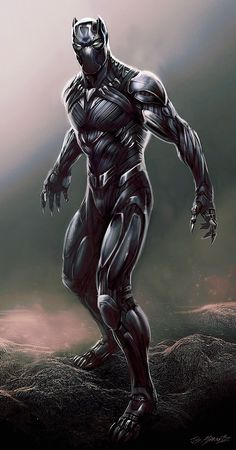 More BLACK PANTHER Concept Art From CAPTAIN AMERICA: CIVIL WAR