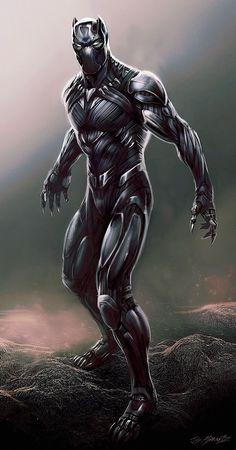 Civil War : des concept-arts inédits pour Black Panther