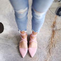 Flats for ballerina wanna be's like me :)