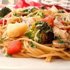 Pasta, Chicken and Artichokes - Allrecipes.com