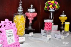 Spring Fling Candy Buffet