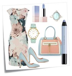 """Untitled #451"" by capm ❤ liked on Polyvore featuring Post-It, Rupert Sanderson, Kate Spade, shu uemura and Sephora Collection"