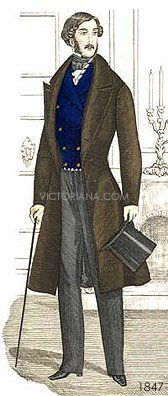 1847 Gentleman's clothing