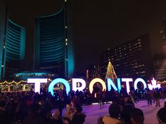 New Years Eve in Toronto New Years Eve, Toronto, Broadway Shows, Neon Signs