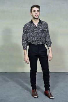 Style Watch: Xavier Dolan at Paris Fashion Week