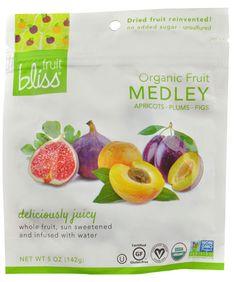 Fruit Bliss Organic Fruit Snacks Fruit Medley