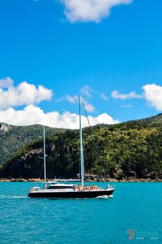 One of my favorite travel experiences was cruising the Whitsunday Islands in Australia. Just beautiful!