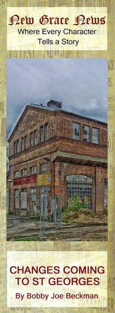 New development planned for condemned warehouse district. The twelve block area of St Georges  has been vacant since  MacDouglas Fertilizer Manufacturing closed their doors in 2012 and a high crime zone