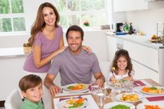 If youre like most harried parents, getting dinner on the table—and your family to the table—is no small feat. But having regular family meals has so many benefits for kids and parents alike. Studies suggest that regular family meals helps kids of all ages maintain a healthy body [...]
