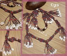 Collar de Mazo para Oya #oya #yansa #orisha #santos #madrid #atributosyorubas #religionafrocubana #osha #artesanía