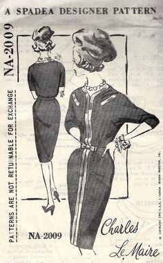 1960s Wiggle Cocktail Dress