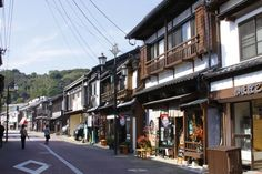 Downtown Hirado Hirado City, Matsuura City & Kitamatsuura District Old buildings and streets