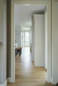 Slight gray or white wash? Natural Wood Flooring, Oak Flooring, White Oak Floors, Floor Colors, Home Renovation, My Dream Home, Future House, Beautiful Homes, Powder