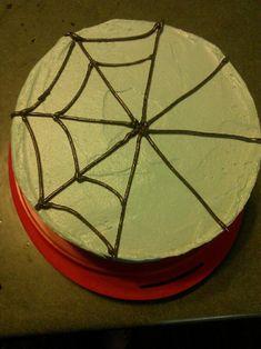 Easy Spider-Man Cake | Jackatessa's Blog