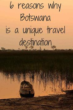 reasons why botswana is a unique travel destination