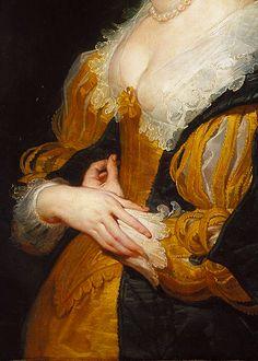 Portrait of a Woman by Peter Paul Rubens, ca. 1625-30 (detail)