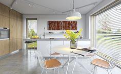 Ekonomiczny 2B - wizualizacja 5 - projekt małego domu z poddaszem użytkowym w typie nowoczesnej stodoły