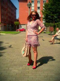 Un vestido para mí: vestido estampado
