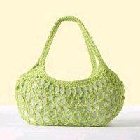 20 free crochet patterns for bags? This bag is cute