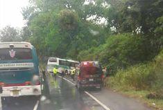 Autobús Chitré-Panamá se accidenta en Howard - Día a día