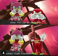 Anyone else didn't see this coming? I mean, I didn't realize that Knuckles would do this!