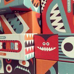 Invisible Creature Boxes