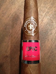 Montecristo Epic No. 2 Vintage 2007 by Altadis Montecristo Cigars, Cigar Reviews, Premium Cigars, Cigar Smoking, Ds, Trays, Drinks, Recipes, Accessories