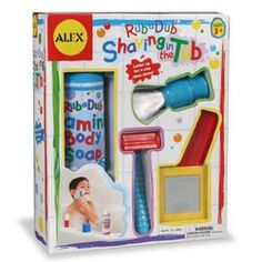 Shaving in the Tub Kids Toy
