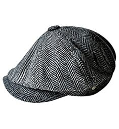 KANGOL BLACK COTTON PLAYER MENS TRADITIONAL HAT CAP MEDIUM 57cm NEW NWT