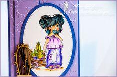 Timbro di CRAFY SENTIMENT Annabel - Sweet Treat con Stabilo Pen 68