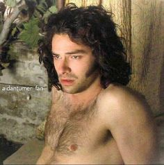 Aidan Turner.....nature provides.....Thank you Mother Nature;-)