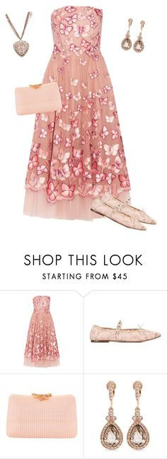 """""""Untitled #203"""" by angelbear38 ❤ liked on Polyvore featuring Notte by Marchesa, Valentino, Serpui, Givenchy and Chanel"""