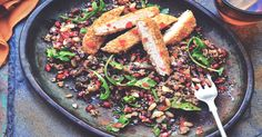 Try this delicious & easy Meat Free Herb Escalope & Quinoa Salad recipe. Delicious whatever the occasion. Enjoy vegan & meat free alternatives with Quorn.