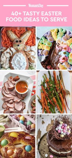 Scroll through for more delicious Easter food ideas and recipes that all of your guests will love!