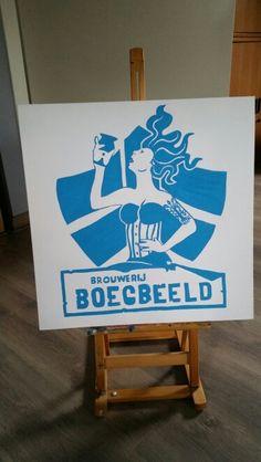 Logo brouwerij boegbeeld Paintings, Logo, Logos, Paint, Painting Art, Painting, Painted Canvas, Drawings, Grimm