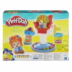 NEW Play-Doh Crazy Cuts. Play-Doh play lets kids take the lid off their imaginations and explore their creativity. Classic Fuzzy Pumper play with salon chair to grow hair. ABOUT THE PRODUCT. Play Doh Knete, Play Dough, Toys For Girls, Kids Toys, Play Doh Colors, Learning Letters, Color Shapes, Kids Christmas, Christmas Gifts