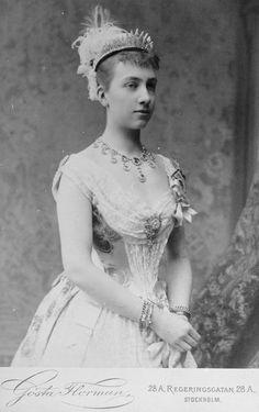 Queen Victoria of Sweden (nee Princess Viktoria of Baden)