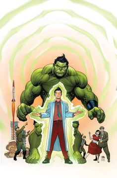 The Totally Awesome Hulk #1 Variant Cover by Frank Cho
