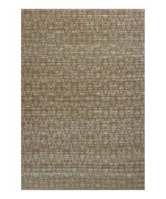 Another great find on #zulily! Natural Palatial Rug #zulilyfinds
