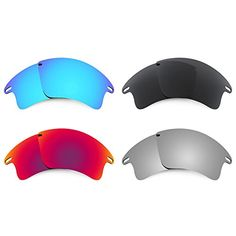 antix oakley replacement lenses balx  Revant Replacement Lenses for Oakley Fast Jacket XL 4 Pair Combo Pack K019